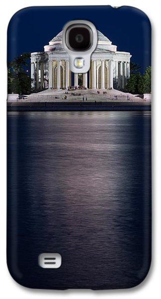 Jefferson Memorial Washington D C Galaxy S4 Case by Steve Gadomski