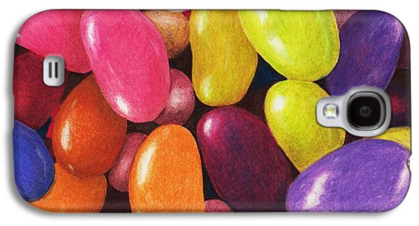 Drawing Galaxy S4 Cases - Jelly Beans Galaxy S4 Case by Anastasiya Malakhova