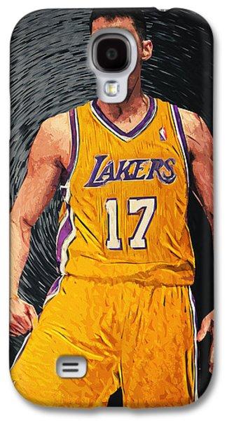Kobe Bryant Wall Art Galaxy S4 Cases - Jeremy Lin Galaxy S4 Case by Taylan Soyturk