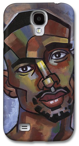 Male Paintings Galaxy S4 Cases - Jerome Has a Good Thought Galaxy S4 Case by Douglas Simonson