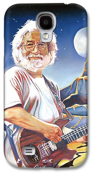 Icons Drawings Galaxy S4 Cases - Jerry garcia Live at the Mars Hotel Galaxy S4 Case by Joshua Morton