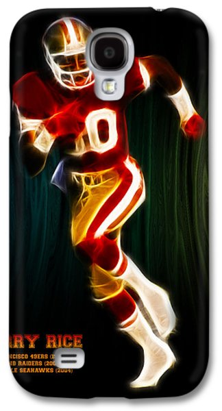Splutter Digital Galaxy S4 Cases - Jerry Rice Galaxy S4 Case by Aged Pixel
