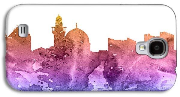 Jerusalem Paintings Galaxy S4 Cases - Jerusalem Galaxy S4 Case by Luke and Slavi