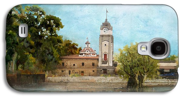 Museum Paintings Galaxy S4 Cases - Jesuit Block and Estancias of Cordoba Galaxy S4 Case by Catf