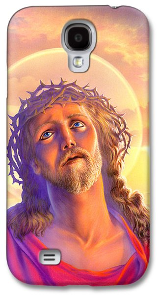 Religious Galaxy S4 Cases - Jesus Galaxy S4 Case by Andrew Farley