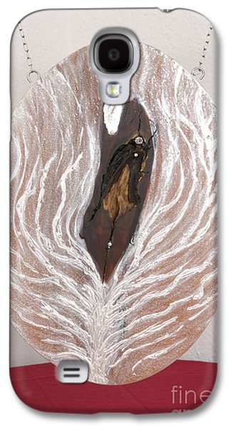Jesus Reliefs Galaxy S4 Cases - Jesus Christ blessings and the life tree Galaxy S4 Case by Heidi Sieber