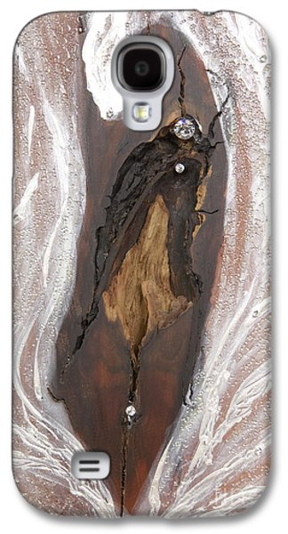 Jesus Reliefs Galaxy S4 Cases - Jesus Christ blessings Galaxy S4 Case by Heidi Sieber