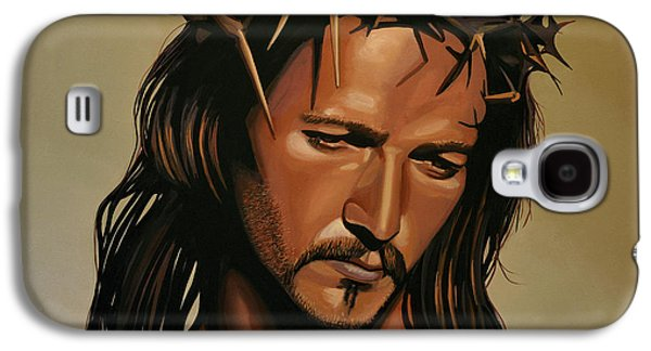The Kings Paintings Galaxy S4 Cases - Jesus Christ Superstar Galaxy S4 Case by Paul Meijering