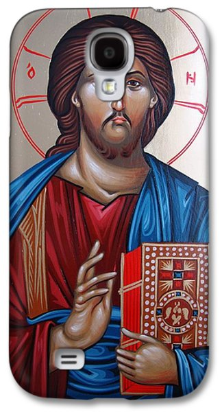 Jesus Photographs Galaxy S4 Cases - Jesus Christ Our Savior Galaxy S4 Case by Gianfranco Weiss