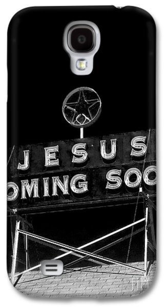 Bible Photographs Galaxy S4 Cases - Jesus Coming Soon Galaxy S4 Case by Edward Fielding