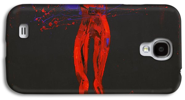 Passion Galaxy S4 Cases - Jesus Dies on the Cross Station 12 Galaxy S4 Case by Penny Warden