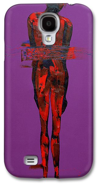 Passion Galaxy S4 Cases - Jesus in the Tomb  Station 14 Galaxy S4 Case by Penny Warden