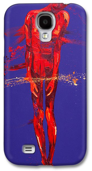Trial Galaxy S4 Cases - Jesus is Condemned Station 1  Galaxy S4 Case by Penny Warden