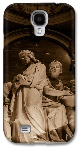 First Lady Galaxy S4 Cases - Jesus is Condemned To Death Galaxy S4 Case by Elizabeth Duggan