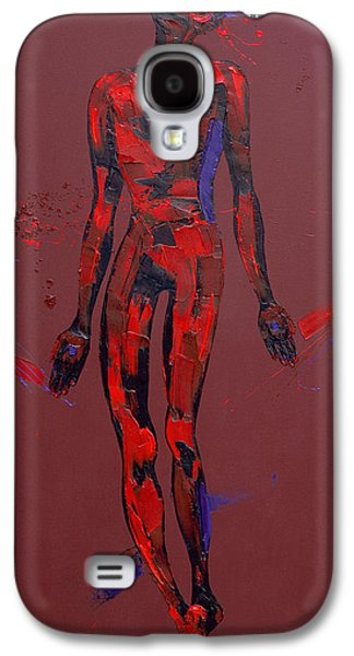 Passion Galaxy S4 Cases - Jesus is Nailed to the Cross Station 11 Galaxy S4 Case by Penny Warden