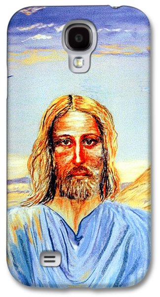Wilderness Paintings Galaxy S4 Cases - Jesus Galaxy S4 Case by Jane Small