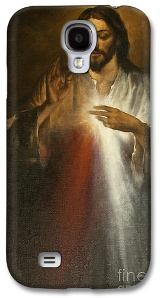 Jesus Of Divine Mercy Galaxy S4 Case by Dan Radi