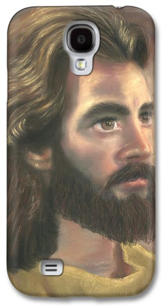 Jesus Pastels Galaxy S4 Cases - Jesus of Nazareth Galaxy S4 Case by Kathryn Foster