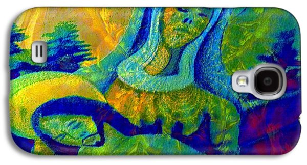Faniart Africa America Mixed Media Galaxy S4 Cases - Jesus Paid It All Galaxy S4 Case by Fania Simon