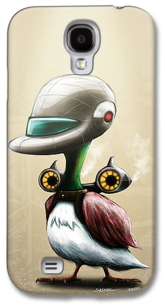 Jet Powered Duck Galaxy S4 Case by Sasank Gopinathan