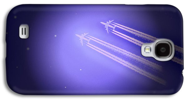 Jet Star Galaxy S4 Cases - Jet Race Galaxy S4 Case by Kelly Reber