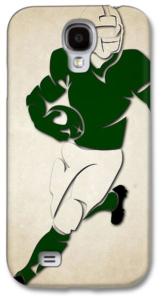 New York Jets Galaxy S4 Cases - Jets Shadow Player Galaxy S4 Case by Joe Hamilton