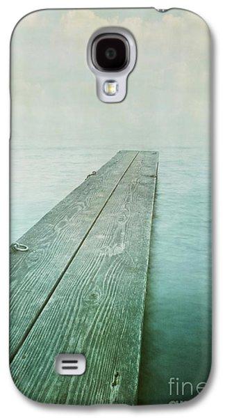 Photomanipulation Galaxy S4 Cases - Jetty Galaxy S4 Case by Priska Wettstein