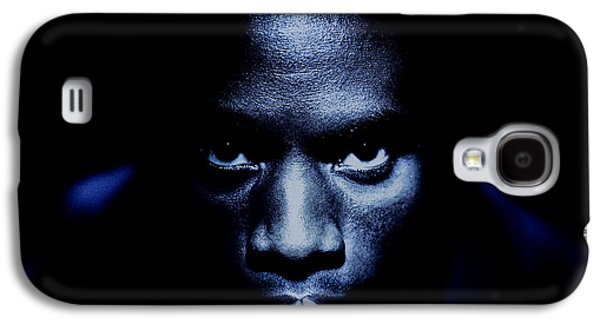 African-american Galaxy S4 Cases - Jevon Blue Galaxy S4 Case by YoPedro