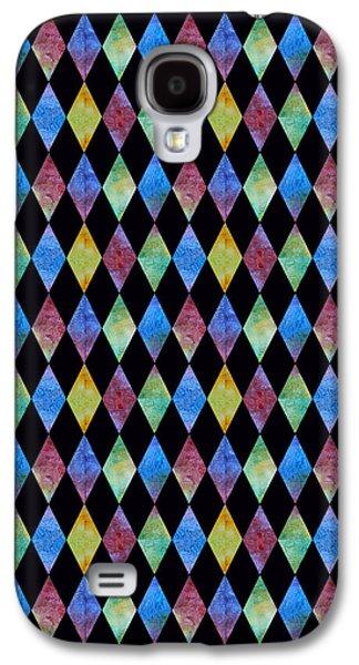 20s Galaxy S4 Cases - Jewel Diamonds Galaxy S4 Case by Jenny Armitage