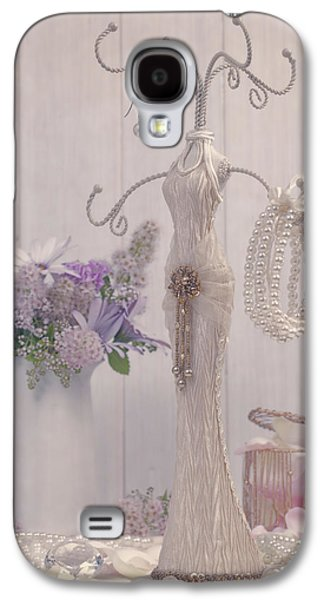 Gold Earrings Galaxy S4 Cases - Jewellery And Pearls Galaxy S4 Case by Amanda And Christopher Elwell