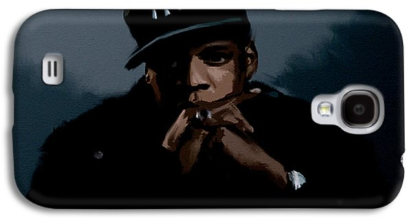 Jiggaman Jay Z Galaxy S4 Case by Brian Reaves