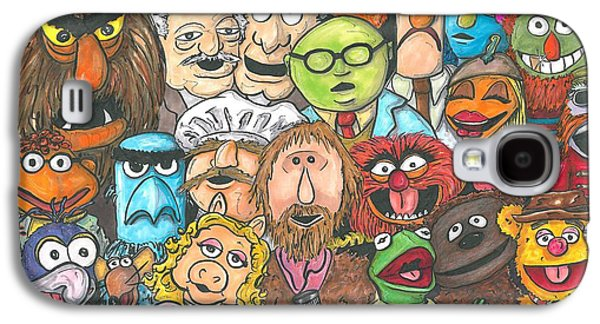 Jim And Friends Galaxy S4 Case by Andy Driscoll