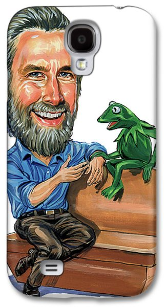Person Galaxy S4 Cases - Jim Henson Galaxy S4 Case by Art