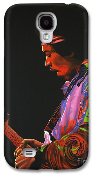 Jimi Hendrix Galaxy S4 Cases - Jimi Hendrix 4 Galaxy S4 Case by Paul  Meijering