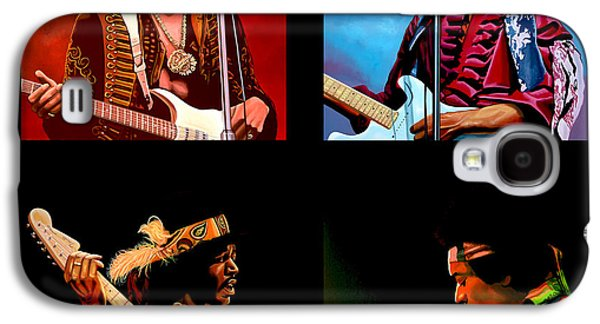 Jimi Hendrix Galaxy S4 Cases - Jimi Hendrix Collection Galaxy S4 Case by Paul  Meijering
