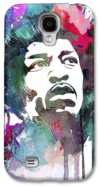 Jimi Hendrix Galaxy S4 Cases - Jimi Hendrix Galaxy S4 Case by Luke and Slavi
