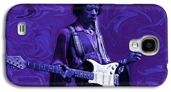 Jimi Hendrix Purple Haze Galaxy S4 Case by David Dehner