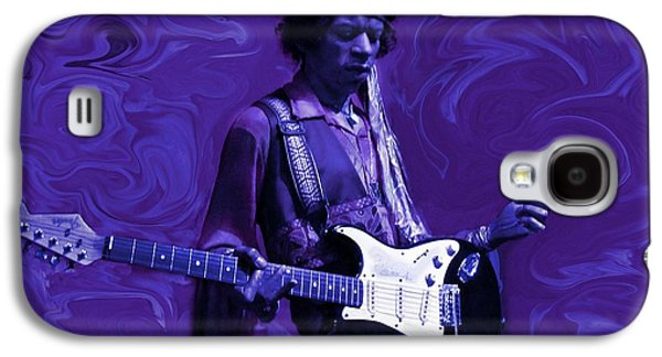 Jimi Hendrix Galaxy S4 Cases - Jimi Hendrix Purple Haze Galaxy S4 Case by David Dehner