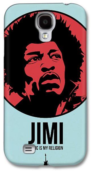 Singer Mixed Media Galaxy S4 Cases - Jimi Poster 2 Galaxy S4 Case by Naxart Studio