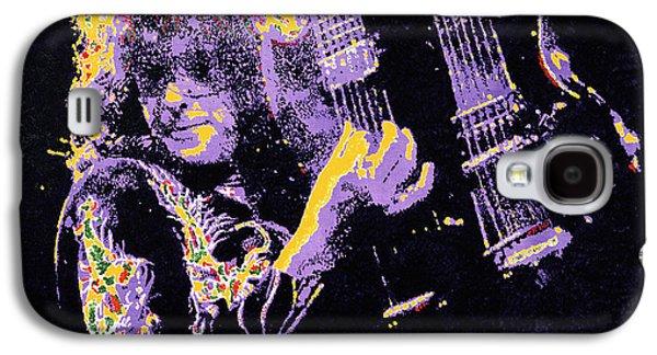 Jimmy Page Galaxy S4 Case by Barry Novis