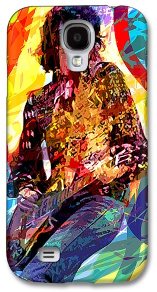 Jimmy Page Leds Lead Galaxy S4 Case by David Lloyd Glover
