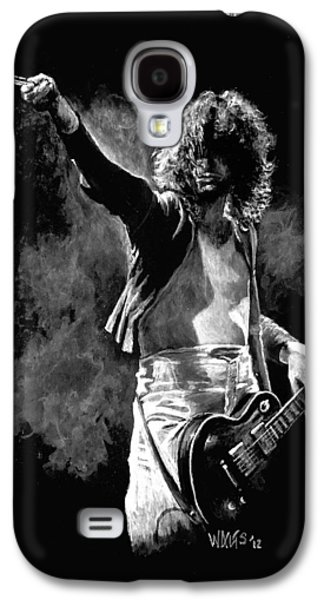 Jimmy Page Galaxy S4 Cases - Jimmy Page Galaxy S4 Case by William Walts