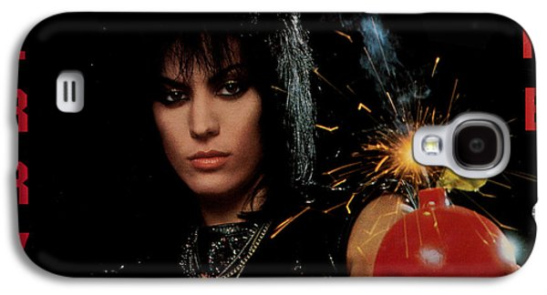 1980s Galaxy S4 Cases - Joan Jett - Cherry Bomb 1984 Galaxy S4 Case by Epic Rights