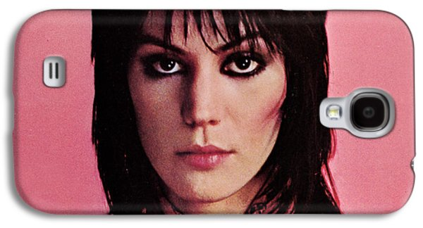 1980s Galaxy S4 Cases - Joan Jett - Crimson and Clover 1982 - Back Cover Galaxy S4 Case by Epic Rights