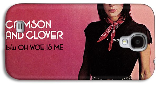 1980s Galaxy S4 Cases - Joan Jett - Crimson and Clover 1982 Galaxy S4 Case by Epic Rights