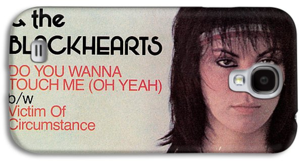 1980s Galaxy S4 Cases - Joan Jett - Do You Wanna Touch Me 1982 Galaxy S4 Case by Epic Rights