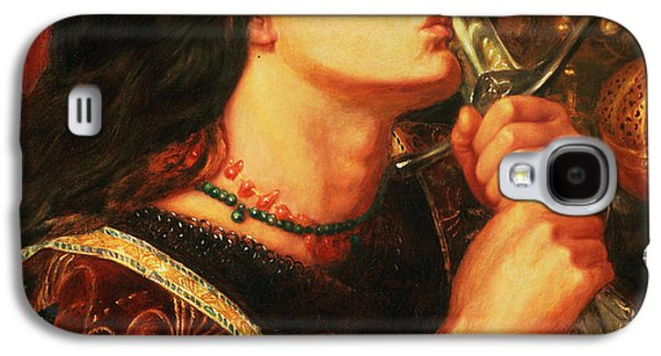 Gabriel Galaxy S4 Cases - Joan Of Arc Kissing The Sword Galaxy S4 Case by Dante Gabriel Charles Rossetti