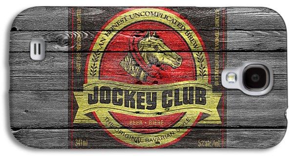 Jockeys Galaxy S4 Cases - Jockey Club Galaxy S4 Case by Joe Hamilton