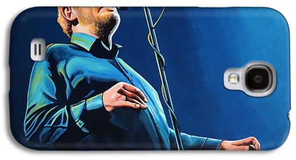 Faith Paintings Galaxy S4 Cases - Joe Cocker Galaxy S4 Case by Paul Meijering