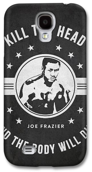 Heavyweight Galaxy S4 Cases - Joe Frazier - Dark Galaxy S4 Case by Aged Pixel